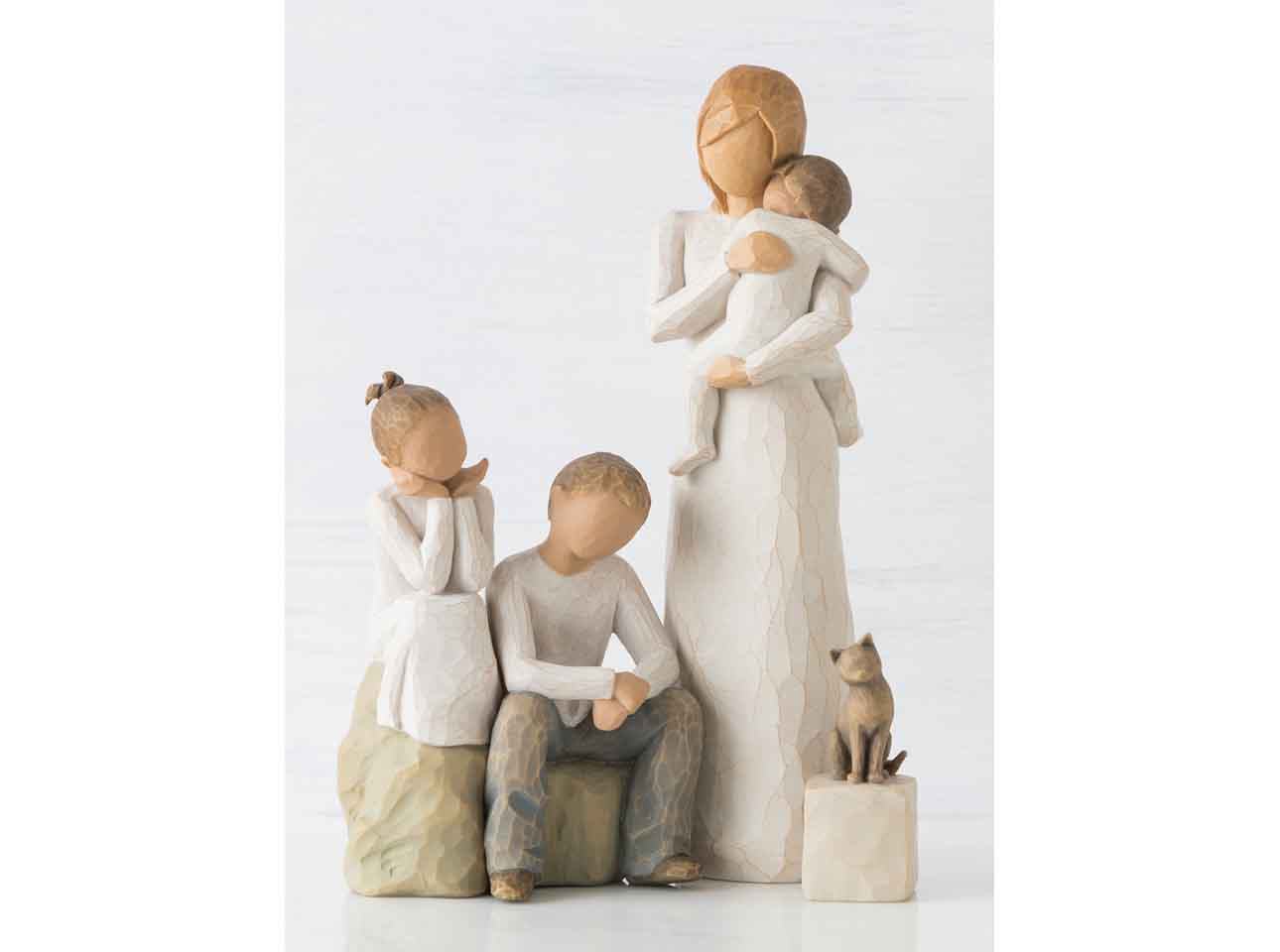 Willow Tree Father and Daughter Figurine